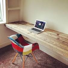 how to build a floating desk diy floating computer desk awesome best 25 floating desk ideas on