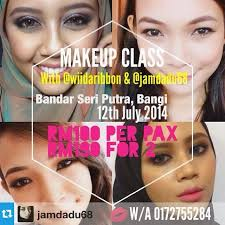 makeup classes kansas city wiida malaysia beauty basic makeup class batch 1 by