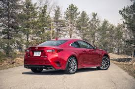 lexus model year changes review 2017 lexus rc 350 awd canadian auto review