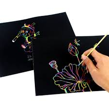 writing paper for letters compare prices on letter writing stationery online shopping buy 10 sheets diy cute kawaii graffiti writing paper black page magic drawing paper painting letter paper