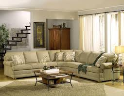 residential interior design with american sofa temple furniture