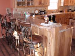 Rustic Hickory Kitchen Cabinets Rustic Hickory Kitchen Cabinets Model Classic Design Of Rustic