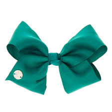 jojo siwa small green back to school hair bow s