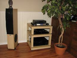 Homemade Stereo Cabinet Diy Audio Turntable Stand Do It Your Self