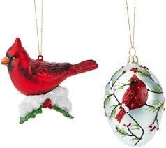joan rivers 2015 set of 2 cardinal ornaments page 1 qvc
