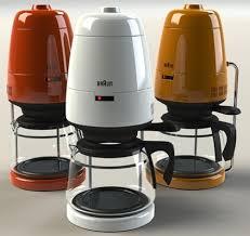 designer kaffeemaschinen braun aromaster kf20 update für einen kaffee klassiker