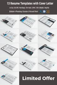 13 resume templates in one resume template 66060