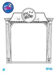 littlest pet shop coloring page pages free printable sheets