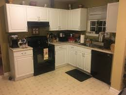 kitchen design white cabinets black appliances what color walls in kitchen with white cabinets and black