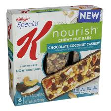 Amazon Com Quaker Chewy Granola Bars Variety Pack 58 Count by Amazon Com Kellogg U0027s Special K Nourish Chewy Nut Bars Chocolate