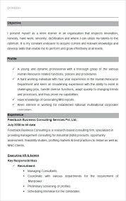 hr resume samples free download 15 best human resources hr resume
