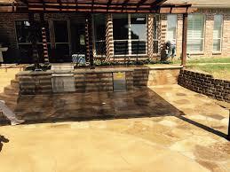 Slate Patio Sealer by Cedar Arbor And Oklahoma Stone Kitchen With Oklahoma Flagstone