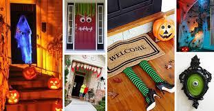 Door Decorations For Halloween 50 Best Halloween Door Decorations For 2017
