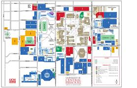 university of central missouri campus map by university of central