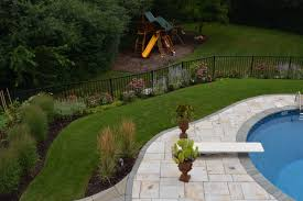 backyard pool u0026 patio design barn nursery u0026 landscape