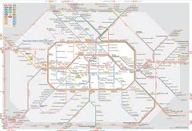 Tokyo Subway Map by 10 Of The World U0027s Craziest Subway Maps