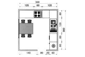 cuisine carré plan cuisine gratuit 20 plans de cuisine de 1 m2 à 32 m2 côté