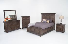 Childrens Bedroom Furniture With Storage by Bedroom The Gatlin Storage Queen Platform Bed Created For Macys