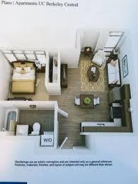 3d floor plan image 0 for the studio floor plan 400 sqft studio