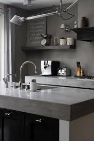 cuisine avec plan de travail deco cuisine gris plan de travail ardoise idées décoration