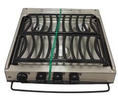Slide In Cooktop Atwood 52757 Stainless Steel 3 Burner Notched Slide In Cooktop