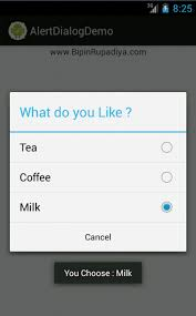dialog android java how to change the color of single choice alert dialog