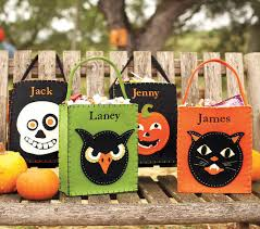 little happy camper diy ghost halloween treat bag