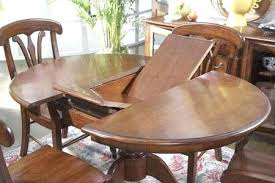 round dining room tables with self storing leaves round dining room table with leaves round oak pedestal table with
