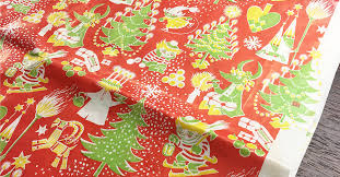 christmas wrapping paper designs tove jansson s christmas wrapping paper design from the 70s
