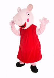 Peppa Pig Halloween Costume Peppa Pig Mascot Peppa Pig Costume Hire Peppa Pig Fancy Dress