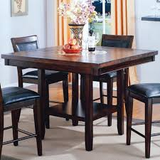 Dining Room Table With Lazy Susan Crown Fulton Counter Height Table With 20 Inch Lazy Susan