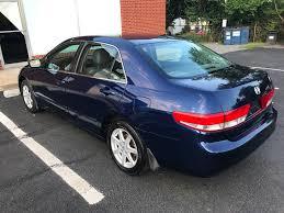 2003 honda accord horsepower 2003 used honda accord sedan ex automatic v6 w leather at apex