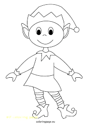 coloring pages of elf christmas elf coloring page christmas girl elves coloring pages