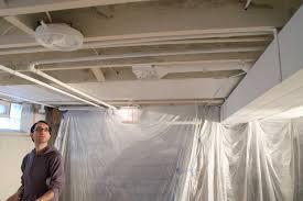 basement ceiling paint basement ideas