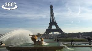 Who Designed The Eiffel Tower The Eiffel Tower Christmas In Paris Vr 360 Video Youtube