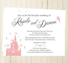 fairytale wedding invitations disney fairytale wedding invitations casadebormela