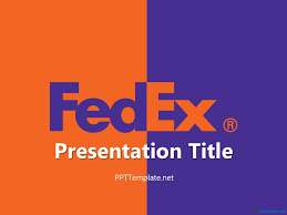 design logo ppt free fedex with logo ppt template