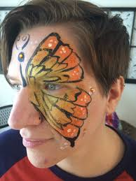 diy butterfly face painting thrifty momma ramblings