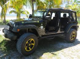 lifted jeep jeep models available to rent in key west
