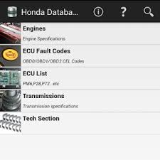 tech database for hondas android apps on google play