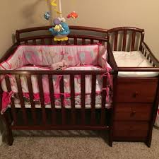 mini crib and changing table find more mini crib for sale with attached changing table and 3