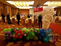 wedding backdrop design singapore singapore themed balloon backdrop for a wedding singapore