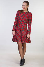 red christmas dress red plaid dress womens christmas party dress