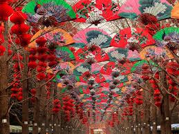 new year decoration decorating amazing new year decoration at beijing china