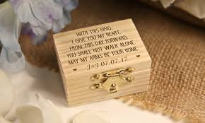Personalised Jewelry Box Personalised Wooden Jewellery Box Groupon