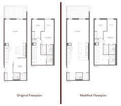 furniture placement for a townhouse floor plan urbantoronto