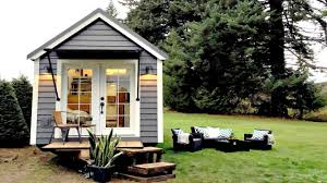 tiny house on wheels fresh clean simply chic interior small home