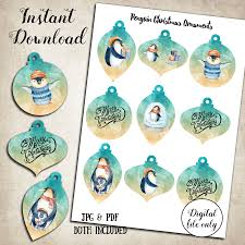 printable penguin tags penguin christmas tags christmas tree