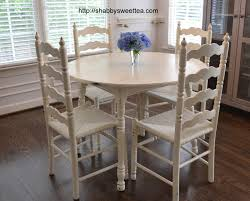 Chic Dining Tables Uncategorized Shabby Chic Dining Table And Chairs With Amazing