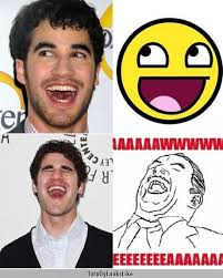 Different Memes - darren criss totally looks like all the different memes